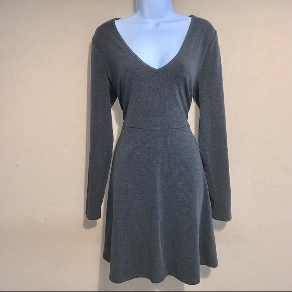 Forever 21 Dresses & Skirts - Forever 21 plus gray skater dress size 1X